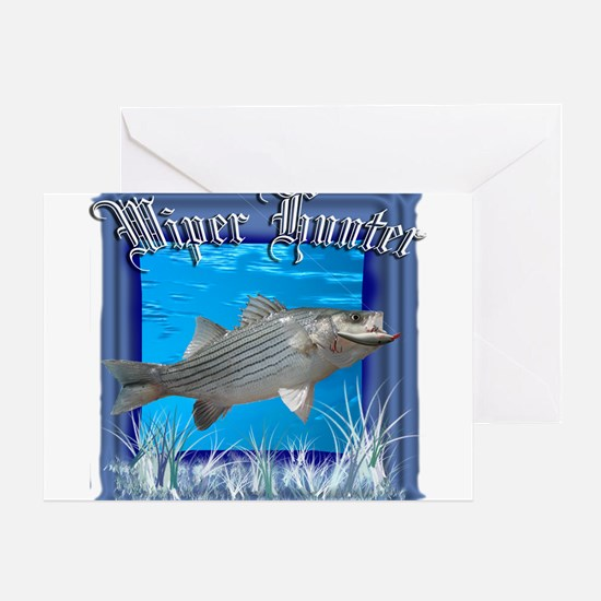 Wiper Hunter Greeting Card
