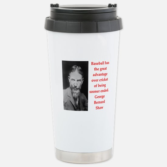 george bernard shaw quote Stainless Steel Travel M