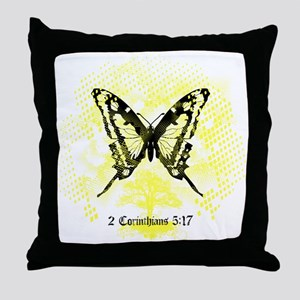 New FiM Butterfly Throw Pillow