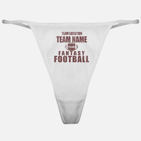 Distressed Personalized Fantasy Football Classic C