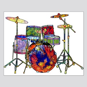 Wild Drums Small Poster