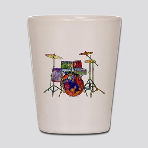 Wild Drums Shot Glass
