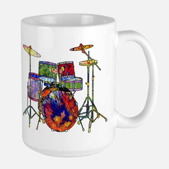 Wild Drums Large Mug