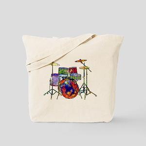 Wild Drums Tote Bag