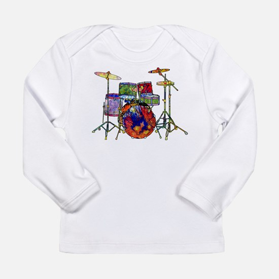 Wild Drums Long Sleeve Infant T-Shirt