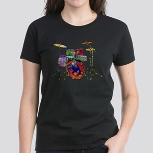 Wild Drums Women's Dark T-Shirt