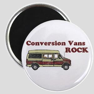Conversion Vans Rock Magnet