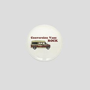 Conversion Vans Rock Mini Button
