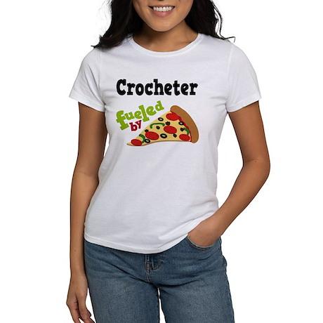 Crocheter Funny Pizza Women's T-Shirt