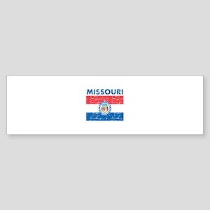 Flag of Missouri Sticker (Bumper)