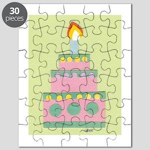 Mini Pink Cake Puzzle