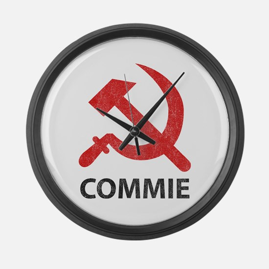 Vintage Commie Large Wall Clock
