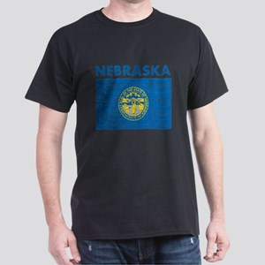 Flag of Nebraska Dark T-Shirt