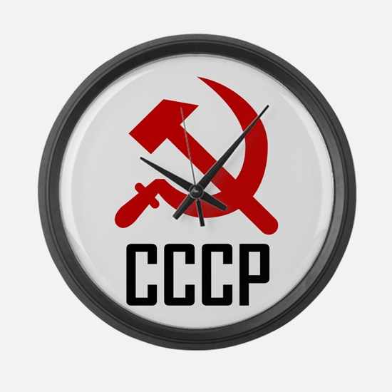 CCCP Large Wall Clock