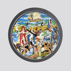 Maurice Prendergast Bathers Wall Clock