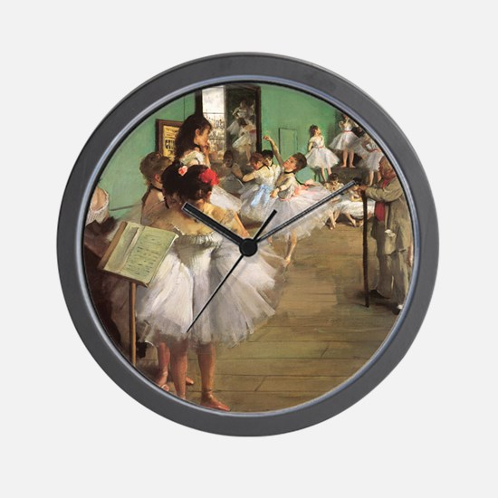Edgar Degas Dancing Class Wall Clock