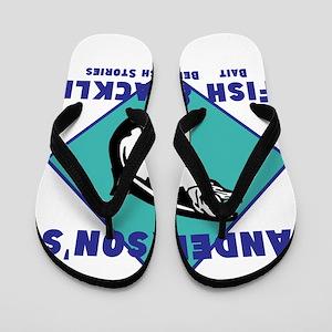 Personalized fishing Flip Flops
