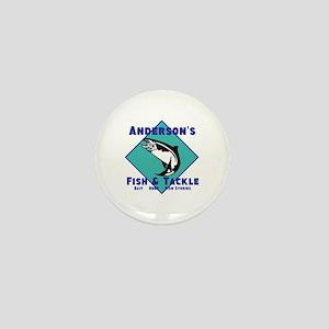 Personalized fishing Mini Button