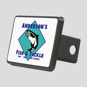 Personalized fishing Rectangular Hitch Cover