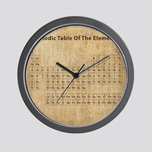 Periodic table of the elements gifts cafepress vintage periodic table wall clock urtaz Images