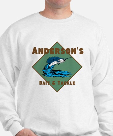 Personalized fishing Sweatshirt