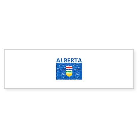 Flag of Alberta Sticker (Bumper)