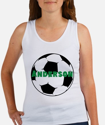Personalized Soccer Women's Tank Top