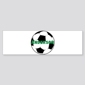 Personalized Soccer Sticker (Bumper)