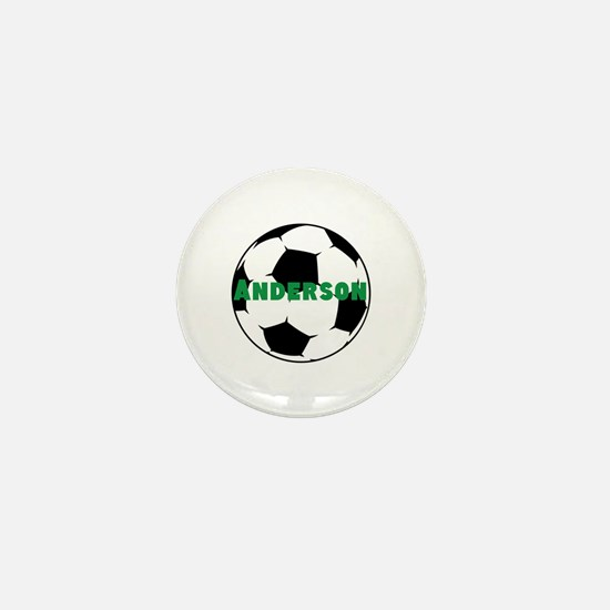 Personalized Soccer Mini Button