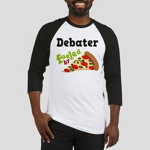 Debater Funny Pizza Baseball Jersey