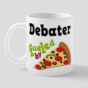 Debater Funny Pizza Mug
