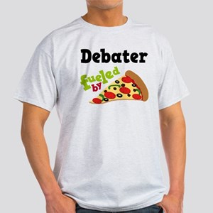 Debater Funny Pizza Light T-Shirt