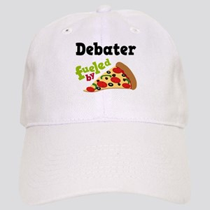 Debater Funny Pizza Cap