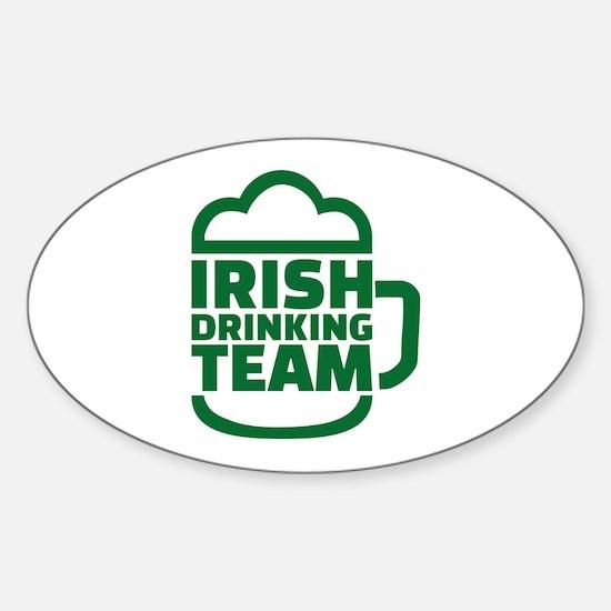 Irish drinking team Decal