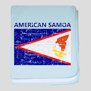 Flag of American Samoa baby blanket