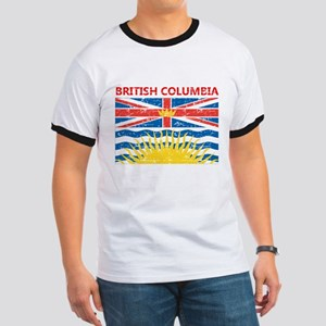Flag of British Columbia Ringer T