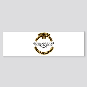 Navy - Rate - AB Sticker (Bumper)
