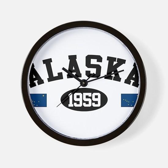 Alaska 1959 Wall Clock