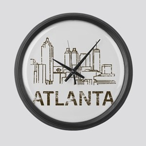 Vintage Atlanta Large Wall Clock