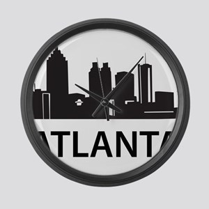 Atlanta Skyline Large Wall Clock