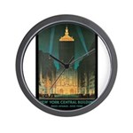 New York Central Building Wall Clock