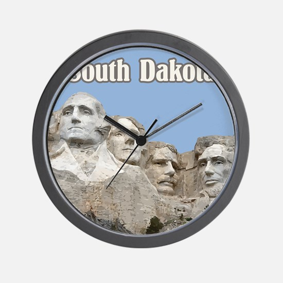 South Dakota Mount Rushmore Wall Clock