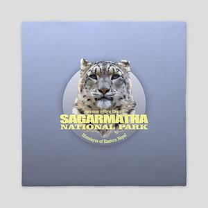 Sagarmatha Snow Leopard Queen Duvet