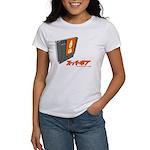 SuperPope.Com logo women's t-shirt