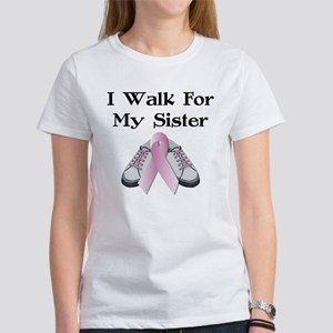 Walk For Sister Women's T-Shirt