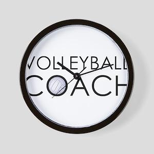 Volleyball Coach Wall Clock
