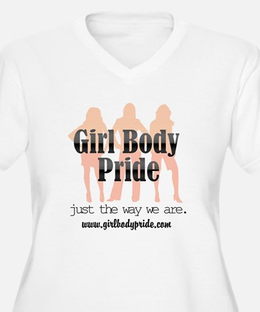 Girl Body Pride URL logo T-Shirt