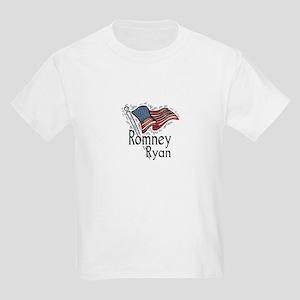 Romney Ryan 2012 Kids Light T-Shirt
