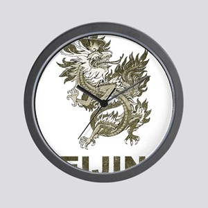 Vintage Dragon Beijing Wall Clock