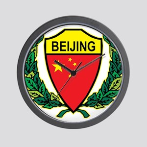 Stylized Beijing Wall Clock